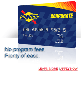 Corporate Card, no program fees, revolving terms, consolidated fuel purchases