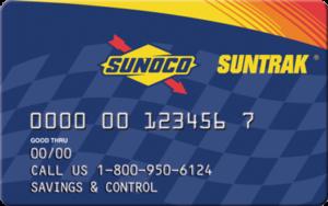 Sunoco Suntrak Fuel Card