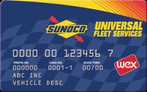 Sunoco Universal Fuel Card